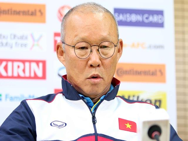 """U23 Việt Nam đấu Hàn Quốc: HLV Park Hang Seo muốn tạo """"địa chấn"""""""
