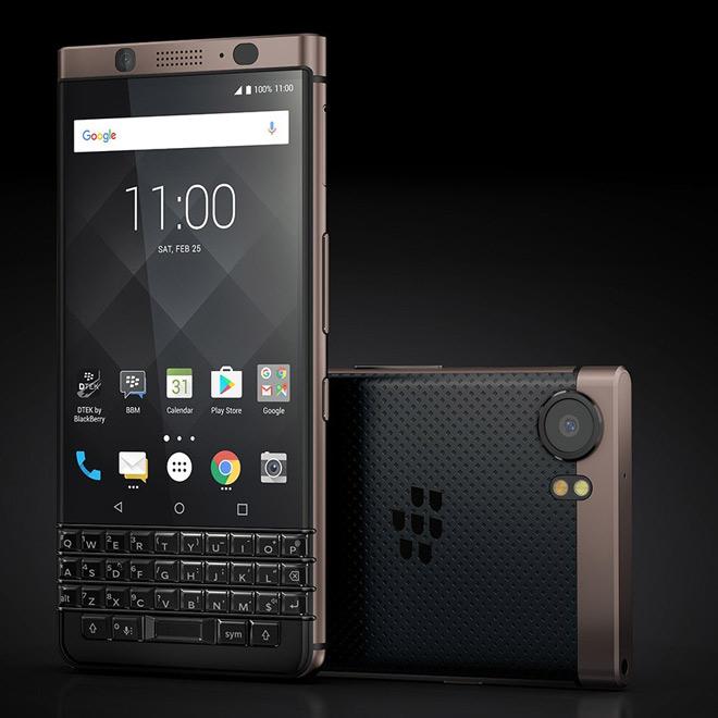 """HOT: BlackBerry KEYone Bronze Edition bất ngờ """"trình làng"""" - 1"""