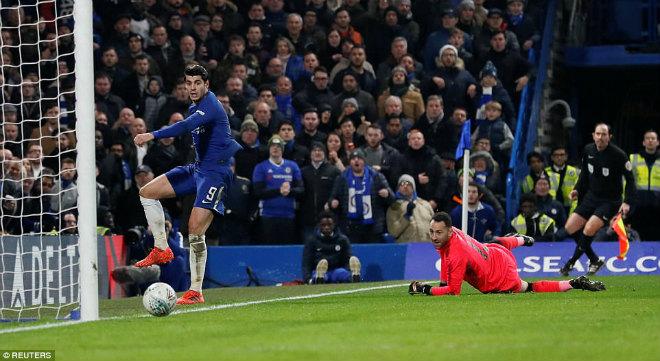 Chelsea hòa Arsenal: Conte chê Morata, giãy nảy đòi bù giờ 10 phút - 2