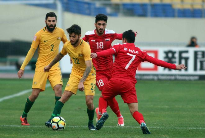 Tin nóng U23 châu Á 11/1: U23 Australia đại thắng U23 Syria - 1