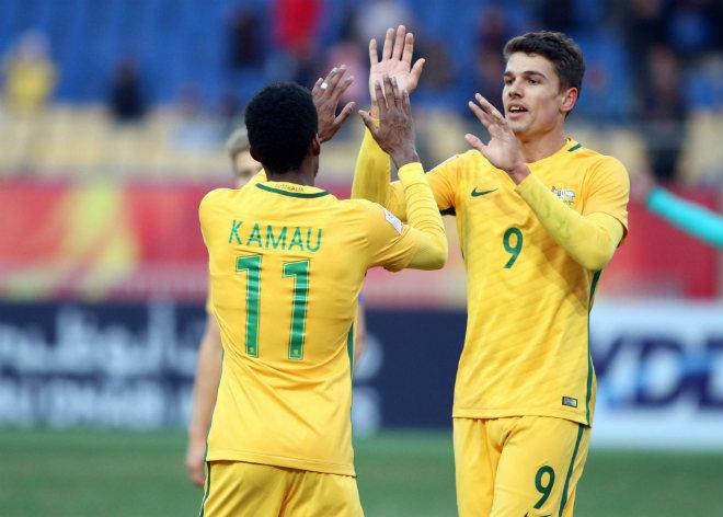Tin nóng U23 châu Á 11/1: U23 Australia đại thắng U23 Syria - 3