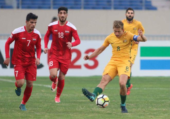Tin nóng U23 châu Á 11/1: U23 Australia đại thắng U23 Syria - 4