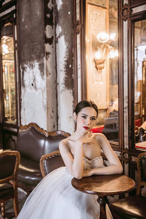 Á khôi Hà thành và bộ ảnh cưới cùng chồng đại gia gây bão - 14
