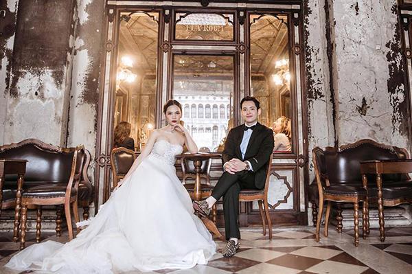 Á khôi Hà thành và bộ ảnh cưới cùng chồng đại gia gây bão - 15