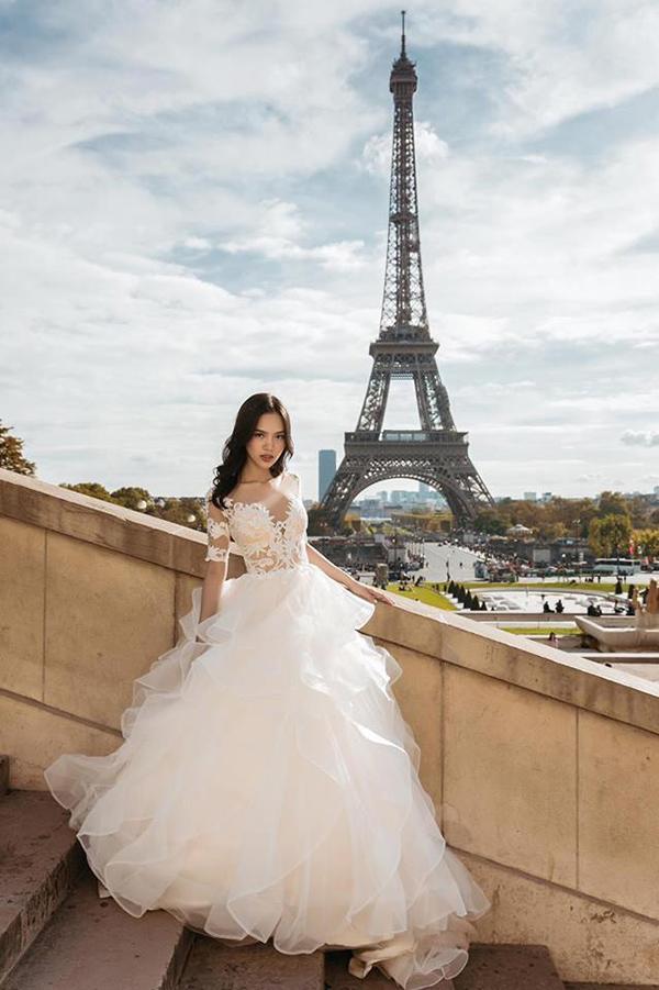 Á khôi Hà thành và bộ ảnh cưới cùng chồng đại gia gây bão - 6