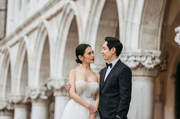 Á khôi Hà thành và bộ ảnh cưới cùng chồng đại gia gây bão - 8
