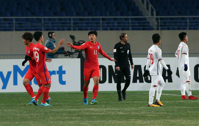 """Ấn tượng U23 Việt Nam công sắc thủ chắc, U23 Hàn Quốc """"tròn mắt"""" - 12"""