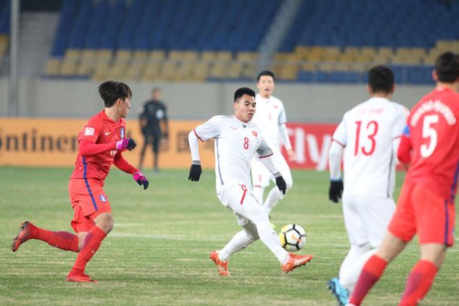 """Ấn tượng U23 Việt Nam công sắc thủ chắc, U23 Hàn Quốc """"tròn mắt"""" - 11"""
