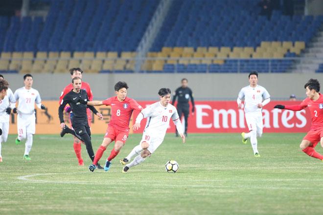 """Ấn tượng U23 Việt Nam công sắc thủ chắc, U23 Hàn Quốc """"tròn mắt"""" - 9"""