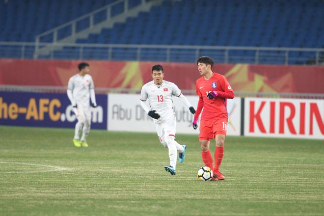 """Ấn tượng U23 Việt Nam công sắc thủ chắc, U23 Hàn Quốc """"tròn mắt"""" - 1"""