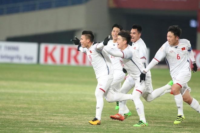 """Ấn tượng U23 Việt Nam công sắc thủ chắc, U23 Hàn Quốc """"tròn mắt"""" - 7"""