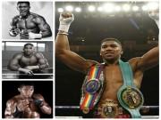 """Quyền vương Joshua:  """" Thánh """"  knock-out, Mike Tyson phiên bản lạ"""