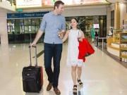 Lan Phương đã đính hôn với bạn trai ngoại quốc cao hơn 2m
