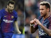 Cầu thủ rê dắt đỉnh nhất châu Âu: Neymar quá hay, lấn át Messi