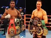 Quyền vương boxing Joshua luyện đòn hiểm, đấu trận long trời lở đất