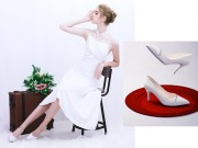 Dolly và những đôi giày cưới tuyệt đẹp