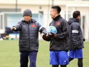 Bóng đá - Thầy trò HLV Park Hang Seo sợ... ông trời