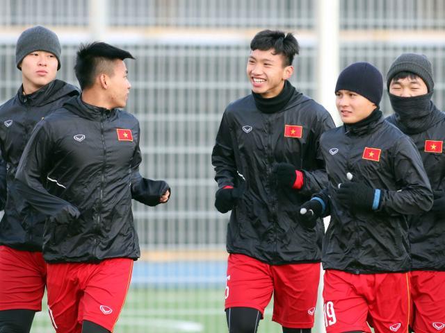 Suýt làm U23 Hàn Quốc choáng, U23 Việt Nam tươi cười tập đấu U23 Úc
