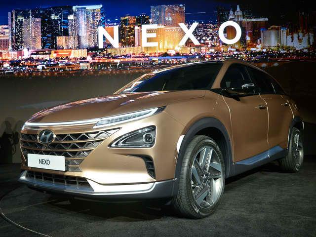 Hyundai Nexo: Crossover chạy điện tiên tiến - 1
