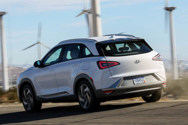 Hyundai Nexo: Crossover chạy điện tiên tiến - 4
