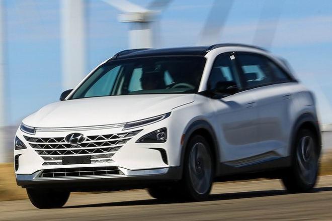 Hyundai Nexo: Crossover chạy điện tiên tiến - 3