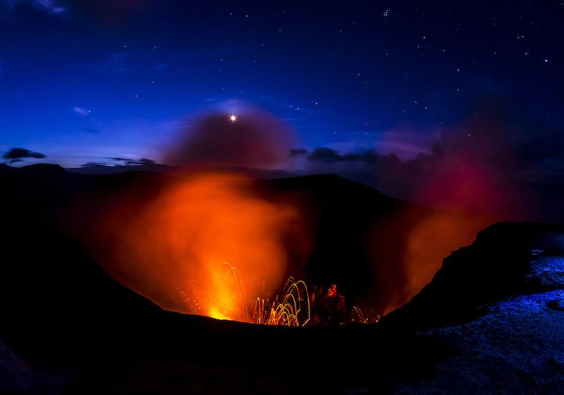 Kinh ngạc ngắm nhìn những ngọn núi lửa đẹp nhất hành tinh - 1