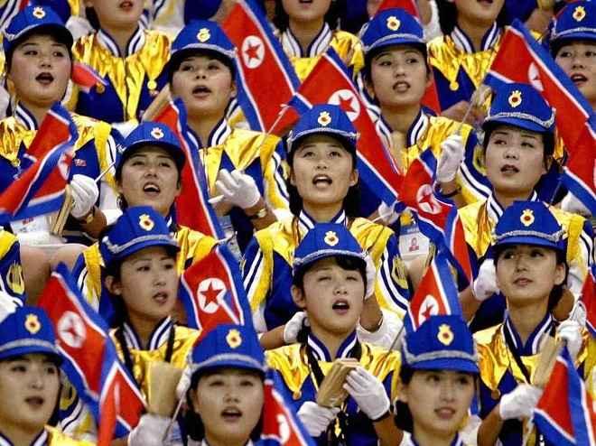 """Ngắm """"đội quân"""" toàn mỹ nữ của Triều Tiên đi cổ vũ ở nước ngoài - 5"""