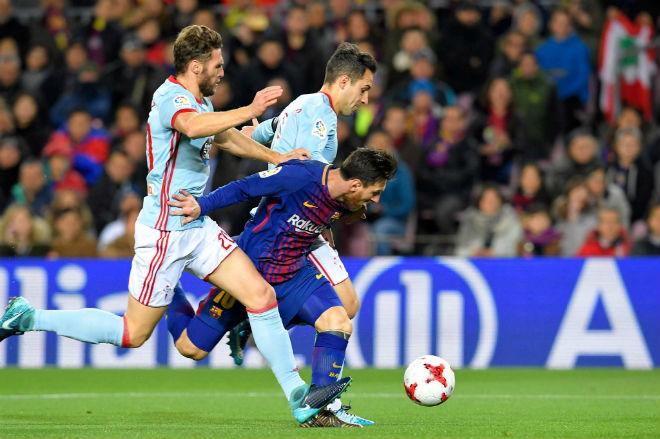 Barcelona - Celta Vigo: Messi thăng hoa, tiệc 5 bàn thịnh soạn - 1