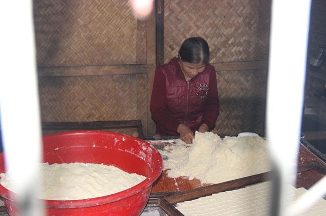 """Độc đáo làng nghề làm bánh """"tiến Vua"""" chỉ vào dịp Tết - 4"""