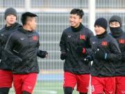 Bóng đá - Suýt làm U23 Hàn Quốc choáng, U23 Việt Nam tươi cười tập đấu U23 Úc