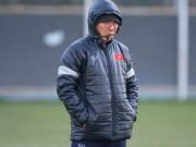 "HLV Park Hang Seo lạc quan, U23 Việt Nam  "" do thám ""  U23 Úc"
