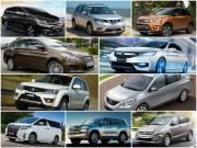 10 mẫu ô tô  ế  nhất Việt Nam tháng 12/2017