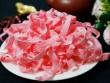Cách làm mứt dừa màu hồng