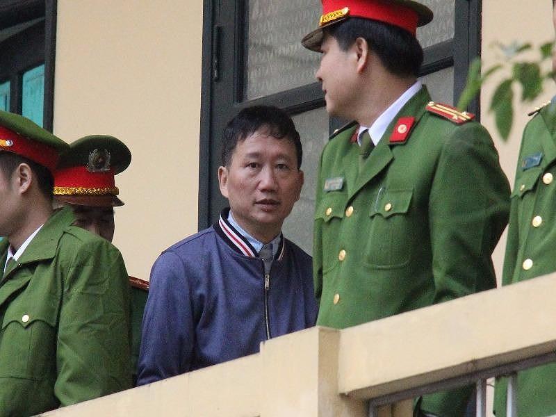 Trịnh Xuân Thanh khóc, xin lỗi ông Đinh La Thăng - 1