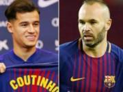 """Coutinho 160 triệu euro chưa đá,  """" cụ già """"  Barca ra uy dằn mặt"""