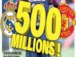 "Rung chuyển ""bom tấn"": MU qua mặt Real, chi 500 triệu euro mua Neymar"