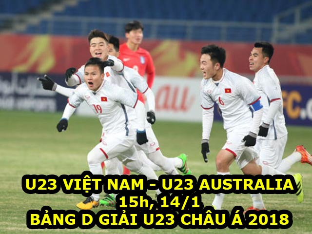 """U23 Việt Nam – U23 Úc: Công Phượng sẽ lại tái hiện """"ác mộng""""?"""