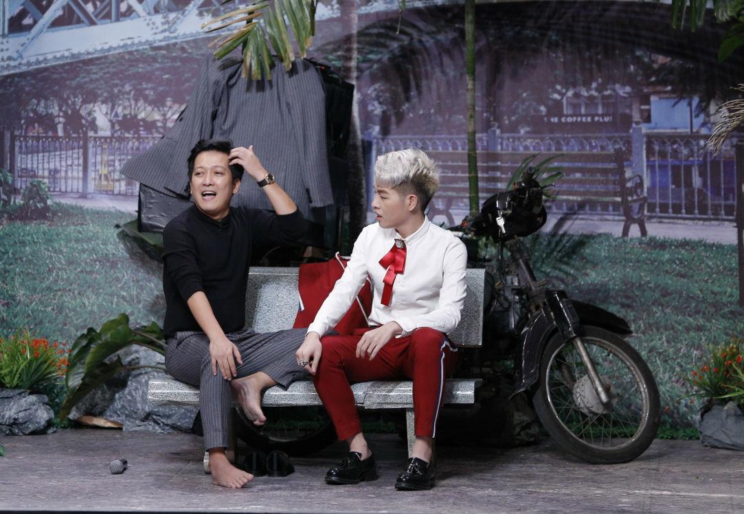 Hoài Linh thán phục, Trường Giang đổ mồ hôi vì chàng ca sĩ chưa từng diễn xuất - 1