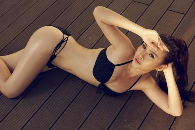 Kiều nữ Sài Thành khoe vòng 3 gần 1 mét với bikini - 6