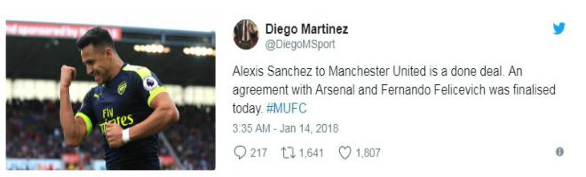 MU đạt thỏa thuận mua Sanchez: Chuyên gia xác nhận, triệu fan mơ vô địch C1 - 1