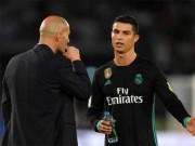Real Madrid lo không dự nổi Cúp C1: Zidane quá khổ vì Ronaldo