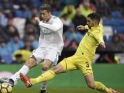 """Ronaldo cực đỉnh của  """" chân gỗ """" : Kiệt quệ dứt điểm 11 ăn 0"""