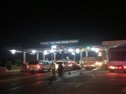 Trạm BOT Sông Phan tiếp tục kẹt xe