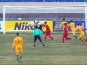 """Tiến Dũng bắt như De Gea, U23 Australia  """" nuốt nước mắt """"  chịu thua"""