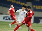 Tin nóng U23 châu Á 14/1: Syria - Hàn Quốc 0-0, bảng D có Việt Nam khó lường