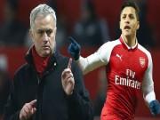 """MU - Mourinho quyết săn  """" bom tấn """"  Sanchez: Số 7 huyền thoại cứu giá"""