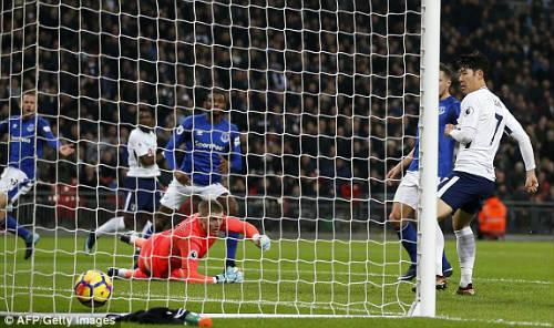 Chi tiết Tottenham - Everton: Hạ màn nhờ tuyệt phẩm (KT) - 7