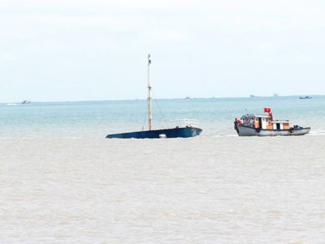 Phát hiện vật thể lạ nghi làm đắm tàu ở vịnh Quy Nhơn