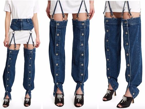 Hơn 2 triệu cho chiếc quần jeans che chỉ nửa vòng 3, ai dám mặc? - 3