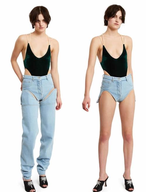 Hơn 2 triệu cho chiếc quần jeans che chỉ nửa vòng 3, ai dám mặc? - 8